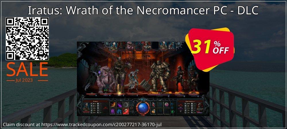 Get 54% OFF Iratus: Wrath of the Necromancer PC - DLC offering sales