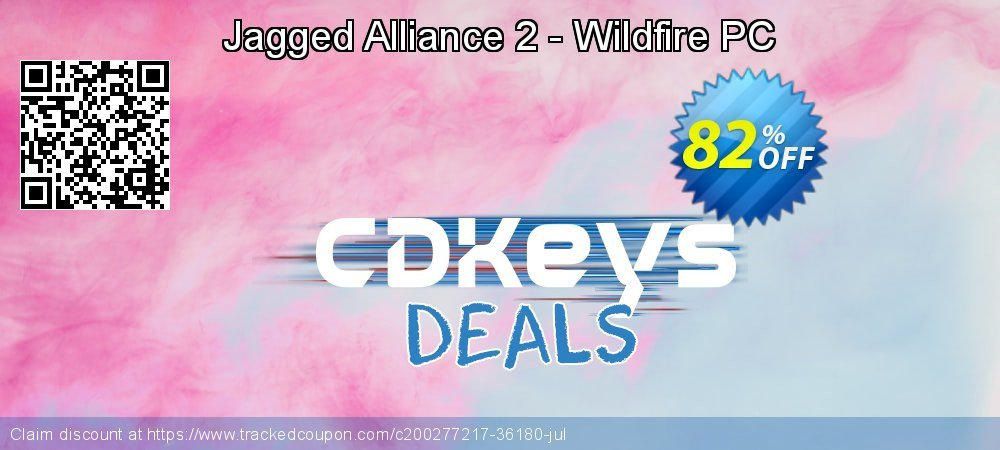 Get 86% OFF Jagged Alliance 2 - Wildfire PC sales