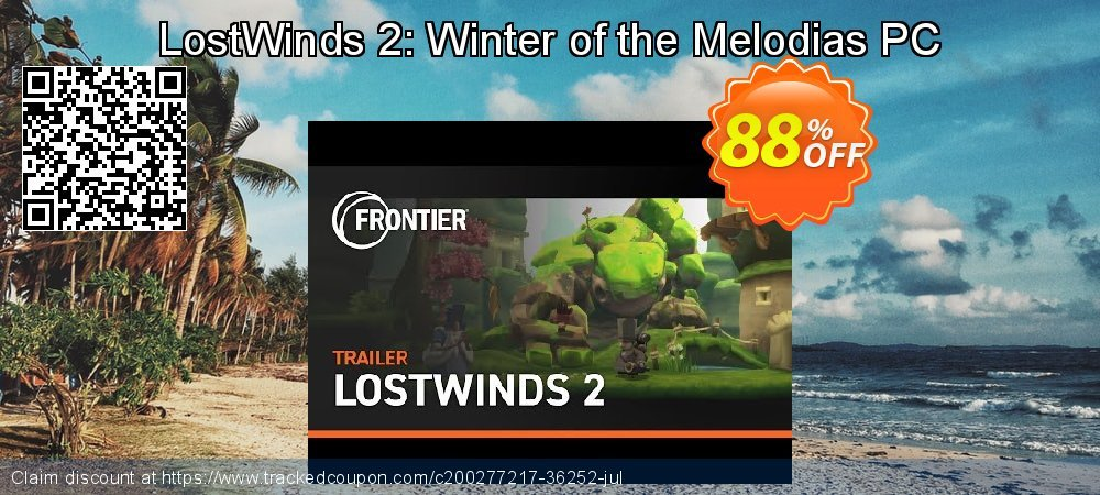 Get 74% OFF LostWinds 2: Winter of the Melodias PC offering sales