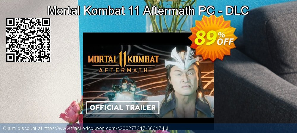 Get 83% OFF Mortal Kombat 11 Aftermath PC - DLC offer