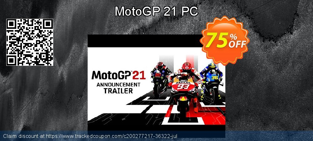 MotoGP 21 PC coupon on World Bicycle Day discount