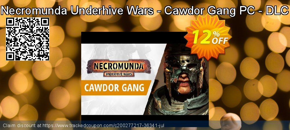 Necromunda Underhive Wars - Cawdor Gang PC - DLC coupon on Camera Day offering discount