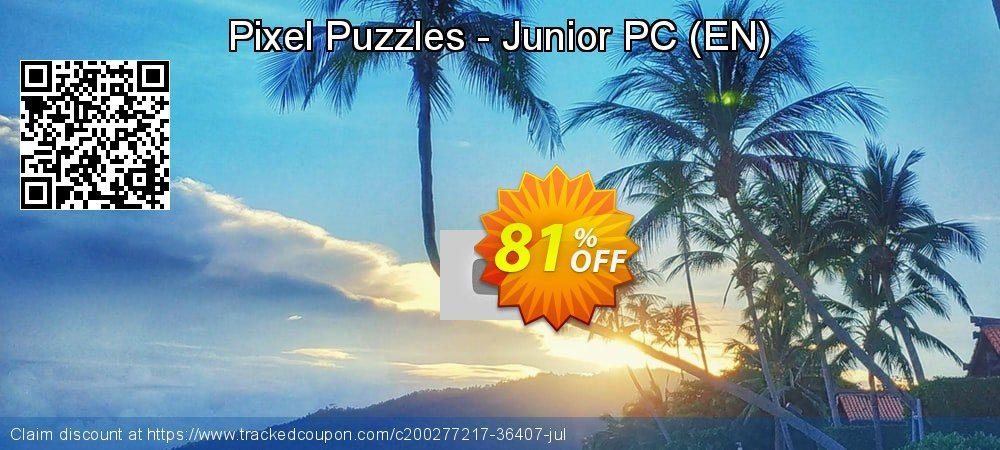 Get 80% OFF Pixel Puzzles - Junior PC (EN) offering sales