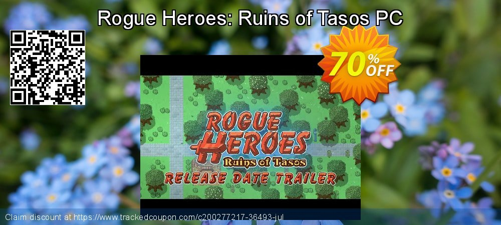 Rogue Heroes: Ruins of Tasos PC coupon on World Oceans Day discount