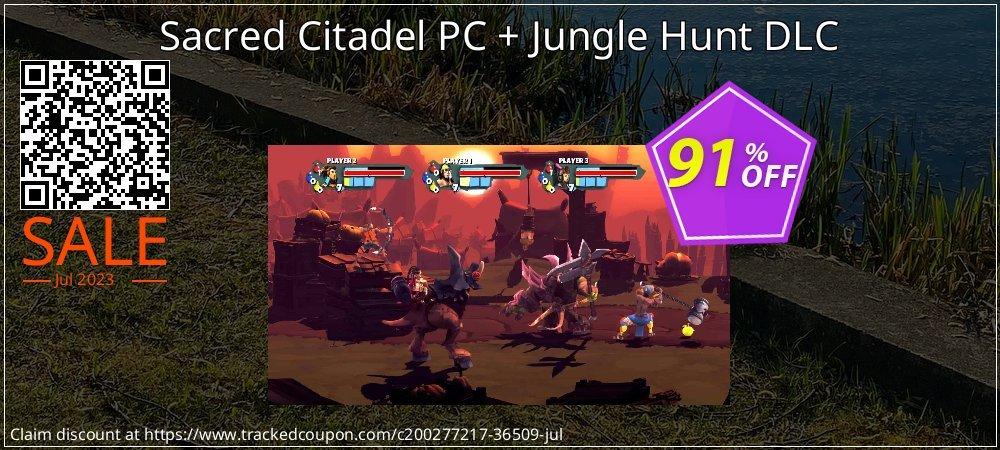 Get 87% OFF Sacred Citadel PC + Jungle Hunt DLC offering sales