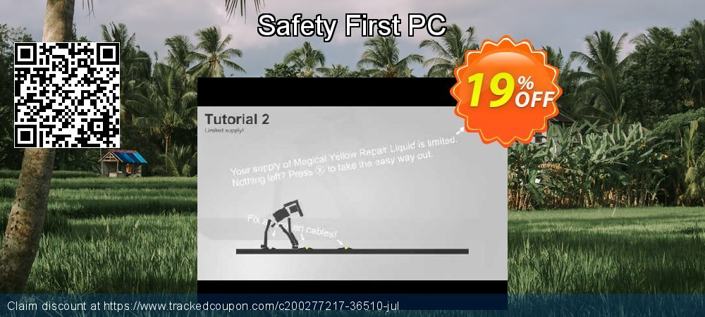 Get 65% OFF Safety First PC offering sales