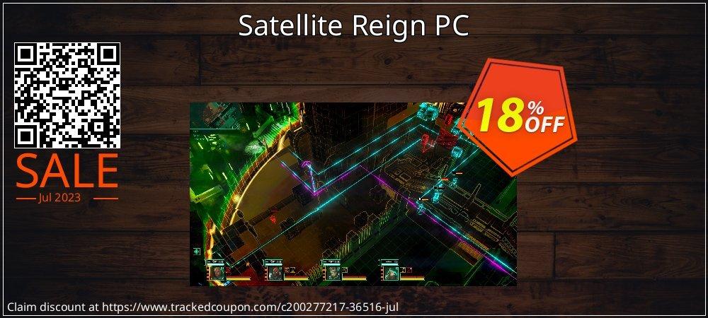 Get 10% OFF Satellite Reign PC offering sales