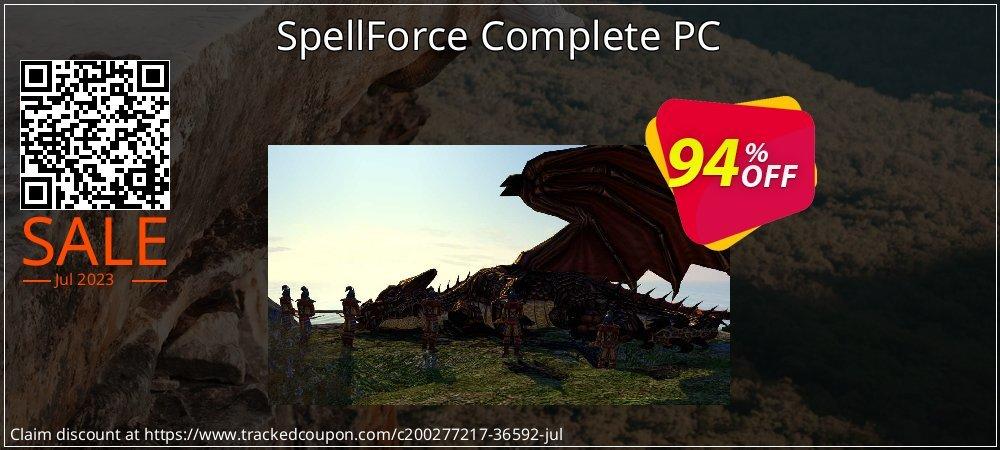 Get 95% OFF SpellForce Complete PC offering sales