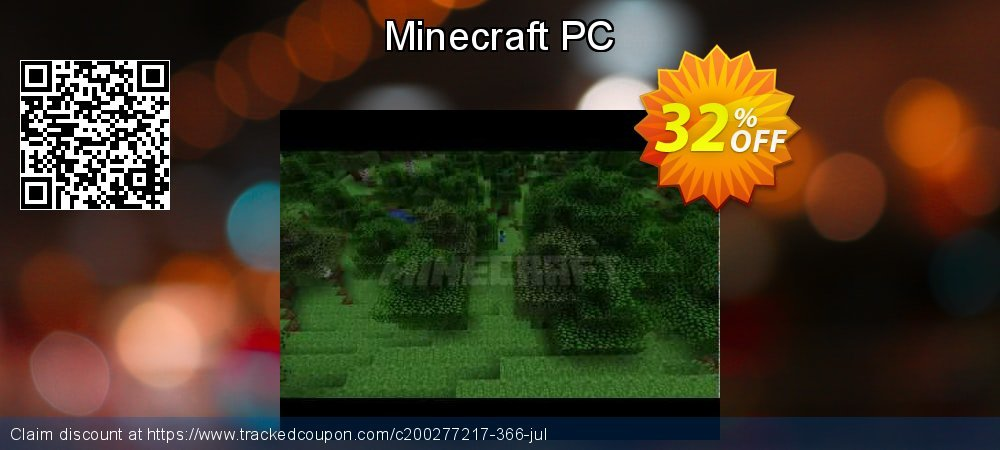 Minecraft PC coupon on Emoji Day discount