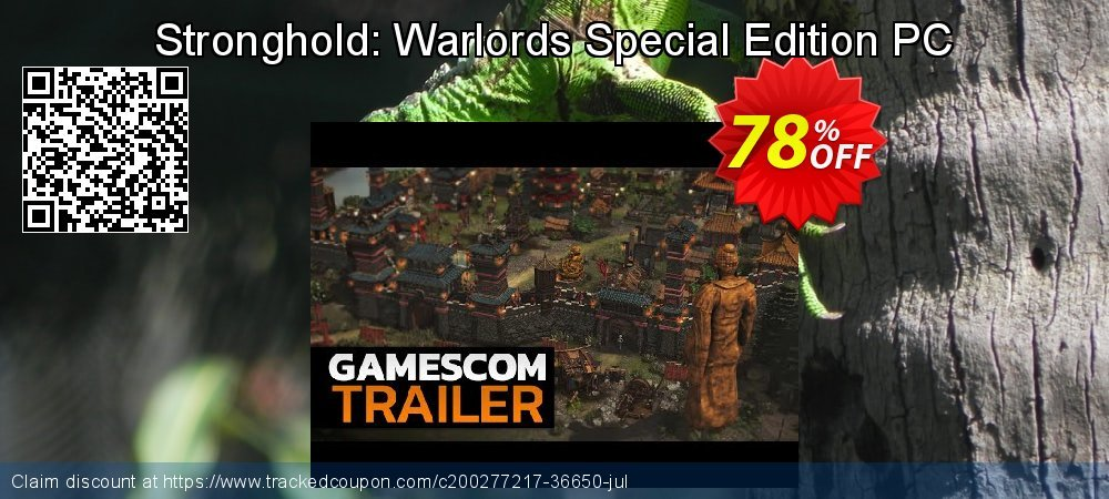 Stronghold: Warlords Special Edition PC coupon on National Kissing Day discounts