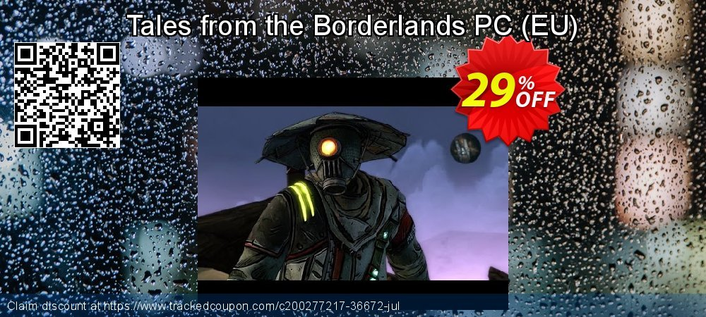 Tales from the Borderlands PC - EU  coupon on Egg Day offer