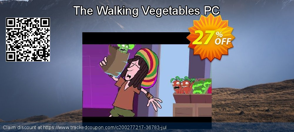 Get 27% OFF The Walking Vegetables PC offering sales
