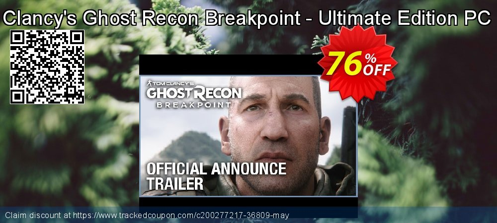 Get 76% OFF Tom Clancy's Ghost Recon Breakpoint - Ultimate Edition PC (EU) offering discount