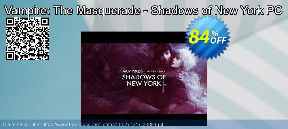 Get 90% OFF Vampire: The Masquerade - Shadows of New York PC promotions
