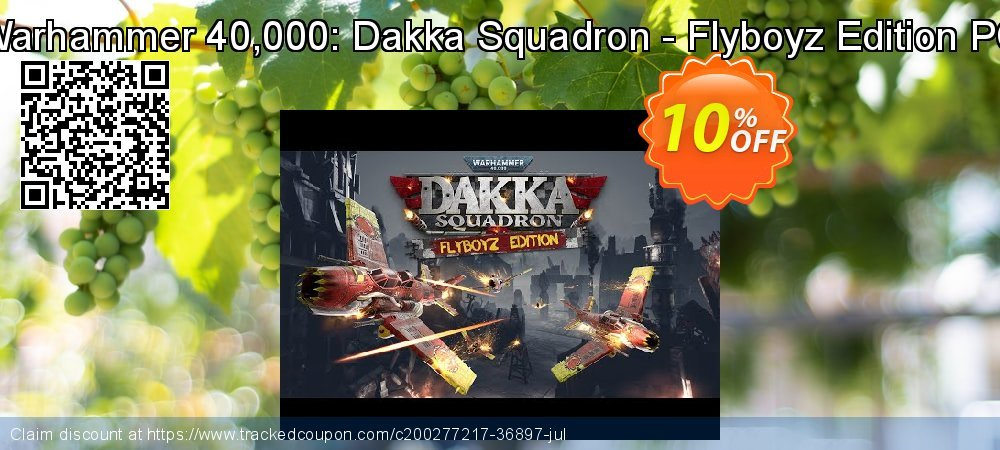 Warhammer 40,000: Dakka Squadron - Flyboyz Edition PC coupon on National Kissing Day offer