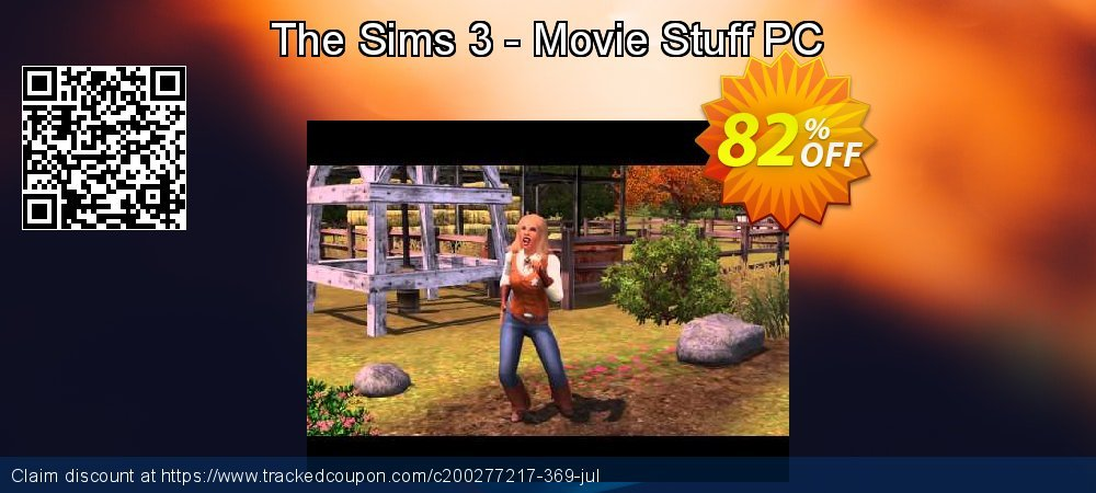 The Sims 3 - Movie Stuff PC coupon on National Bikini Day super sale