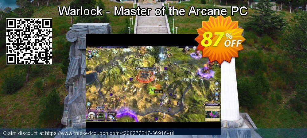 Get 96% OFF Warlock - Master of the Arcane PC offering sales