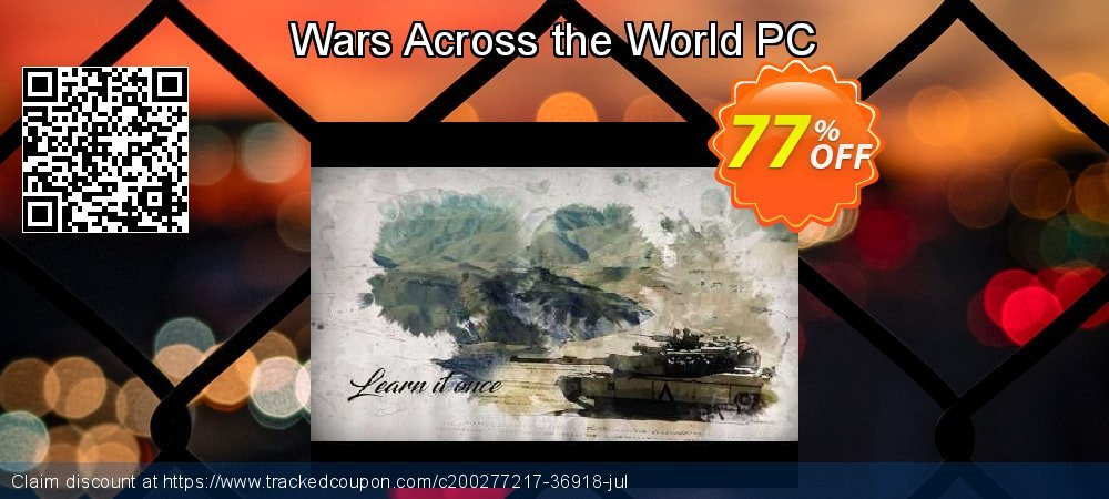 Get 64% OFF Wars Across the World PC sales