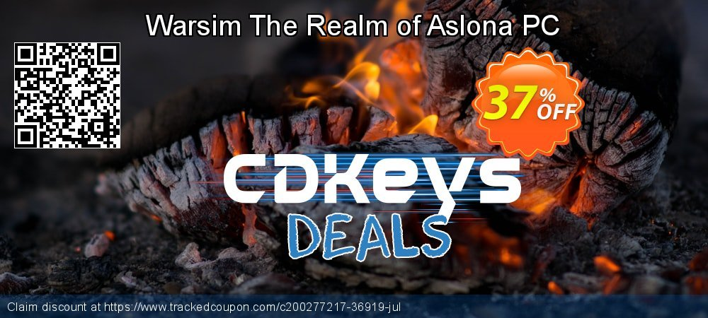 Get 29% OFF Warsim The Realm of Aslona PC sales