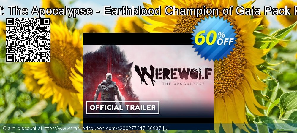 Werewolf: The Apocalypse - Earthblood Champion of Gaia Pack PC - DLC coupon on World Day of Music super sale