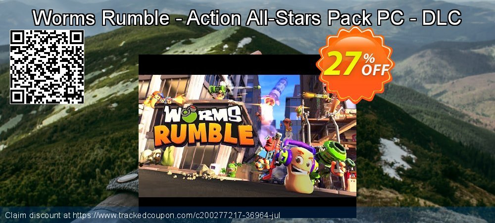 Get 25% OFF Worms Rumble - Action All-Stars Pack PC - DLC offering discount