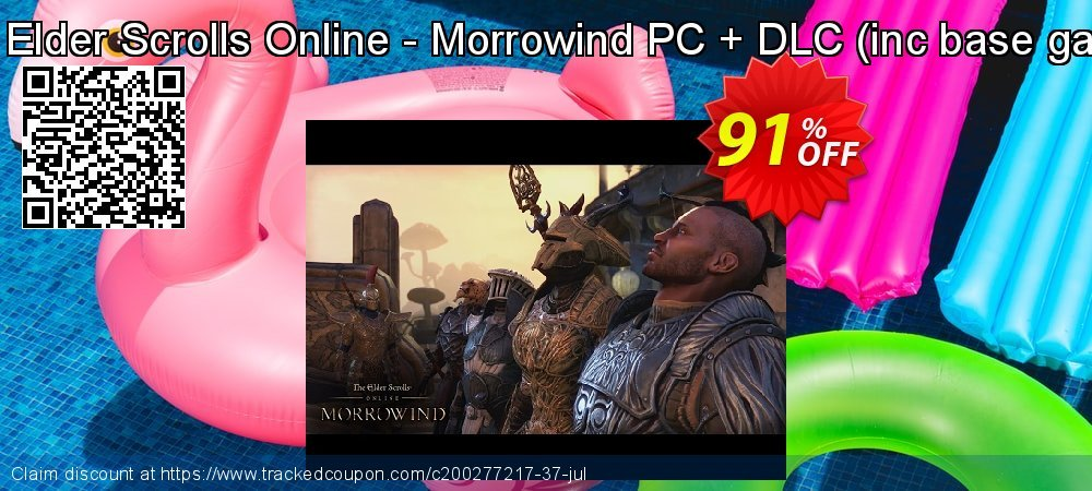 The Elder Scrolls Online - Morrowind PC + DLC - inc base game  coupon on Mothers Day offering sales
