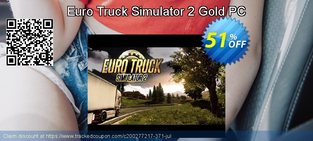 Euro Truck Simulator 2 Gold PC coupon on World Chocolate Day promotions