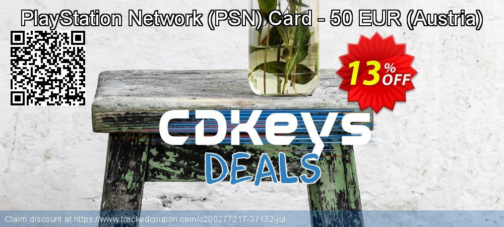 PlayStation Network - PSN Card - 50 EUR - Austria  coupon on Mom Day offer