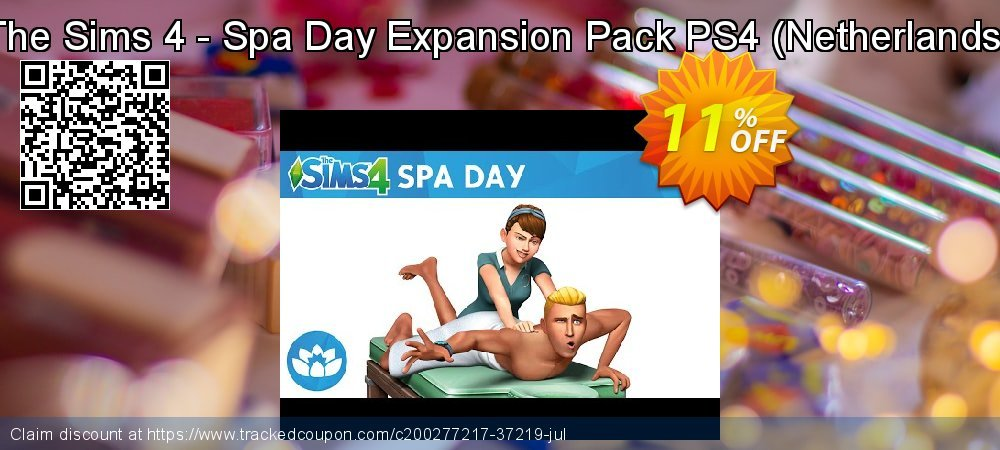 Get 10% OFF The Sims 4 - Spa Day Expansion Pack PS4 (Netherlands) offering sales