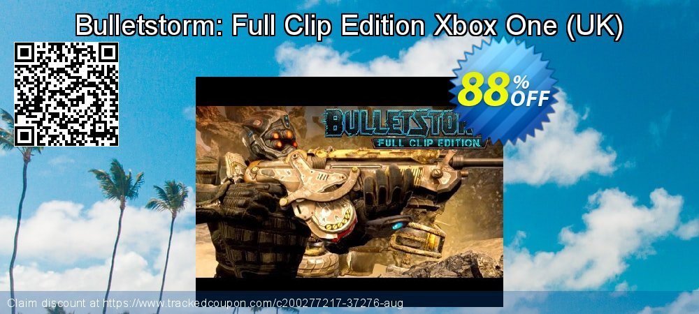 Get 87% OFF Bulletstorm: Full Clip Edition Xbox One (UK) offering sales