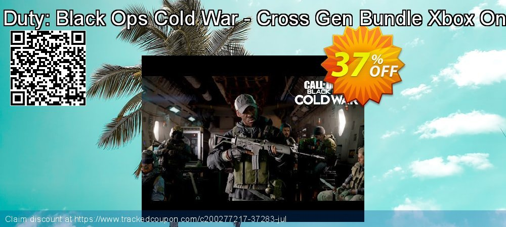 Call of Duty: Black Ops Cold War - Cross Gen Bundle Xbox One - EU  coupon on Egg Day deals