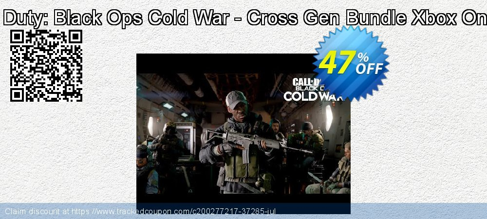 Call of Duty: Black Ops Cold War - Cross Gen Bundle Xbox One - US  coupon on Social Media Day discount