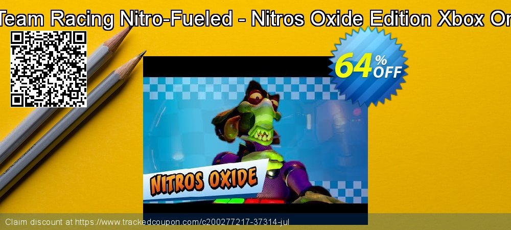 Get 64% OFF Crash Team Racing Nitro-Fueled - Nitros Oxide Edition Xbox One (UK) offering sales