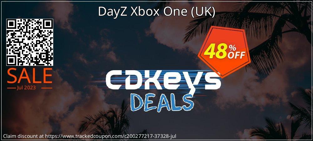 DayZ Xbox One - UK  coupon on Hug Holiday deals