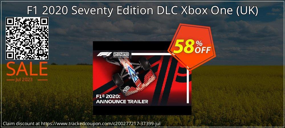 F1 2020 Seventy Edition DLC Xbox One - UK  coupon on World Milk Day sales