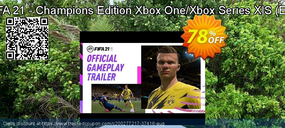 FIFA 21 - Champions Edition Xbox One/Xbox Series X|S - EU  coupon on World Oceans Day promotions