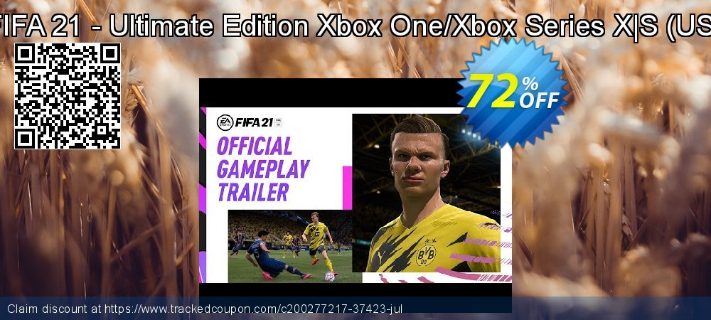 FIFA 21 - Ultimate Edition Xbox One/Xbox Series X|S - US  coupon on National Cheese Day super sale