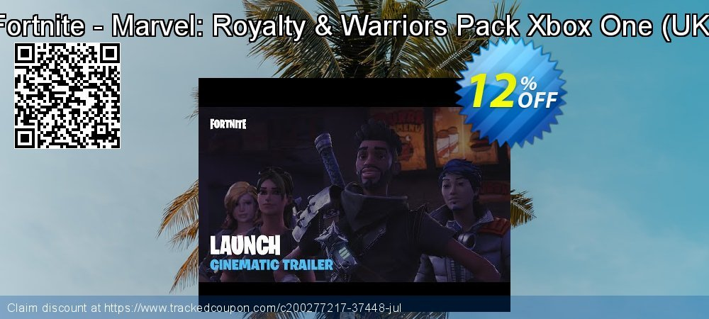 Fortnite - Marvel: Royalty & Warriors Pack Xbox One - UK  coupon on Father's Day offering discount