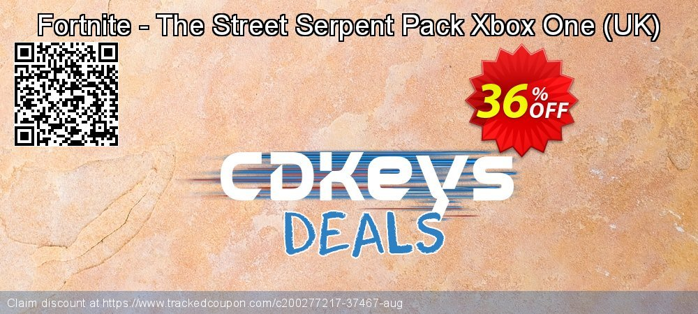 Fortnite - The Street Serpent Pack Xbox One - UK  coupon on Social Media Day offering sales