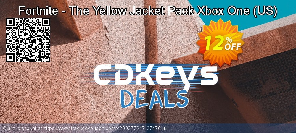 Fortnite - The Yellow Jacket Pack Xbox One - US  coupon on Mom Day discounts