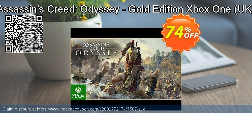 Assassin's Creed: Odyssey - Gold Edition Xbox One - UK  coupon on World Oceans Day sales