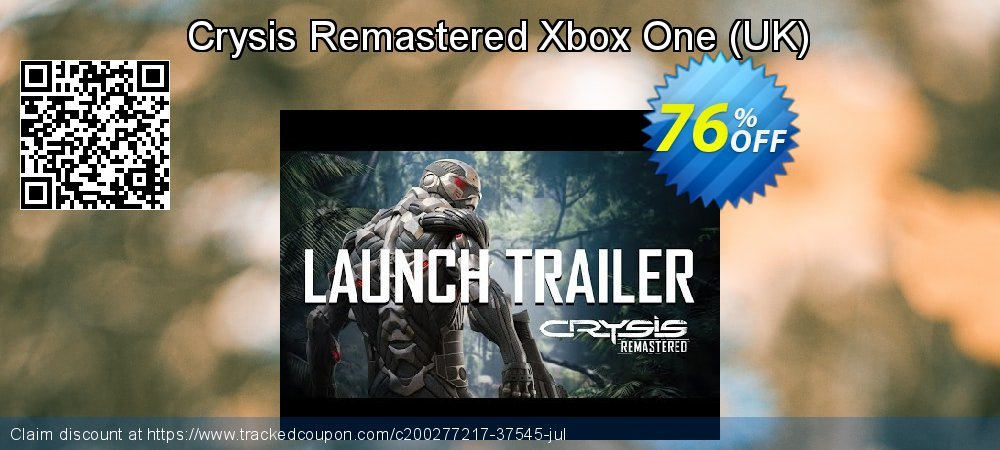 Crysis Remastered Xbox One - UK  coupon on Social Media Day offer
