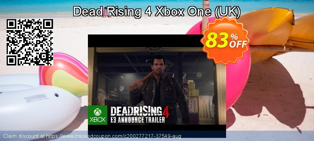 Dead Rising 4 Xbox One - UK  coupon on Hug Holiday super sale