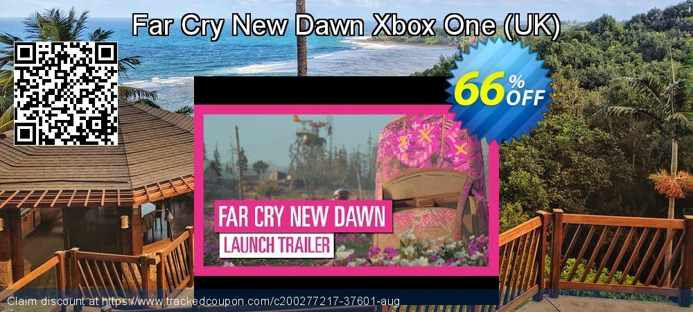 Far Cry New Dawn Xbox One - UK  coupon on Hug Holiday offering discount