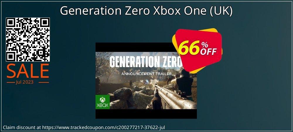 Generation Zero Xbox One - UK  coupon on World Bicycle Day discounts
