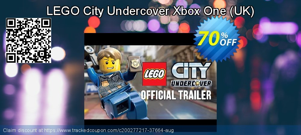 LEGO City Undercover Xbox One - UK  coupon on National Kissing Day offering discount