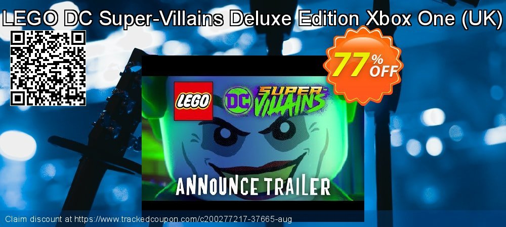 LEGO DC Super-Villains Deluxe Edition Xbox One - UK  coupon on World Day of Music offering sales