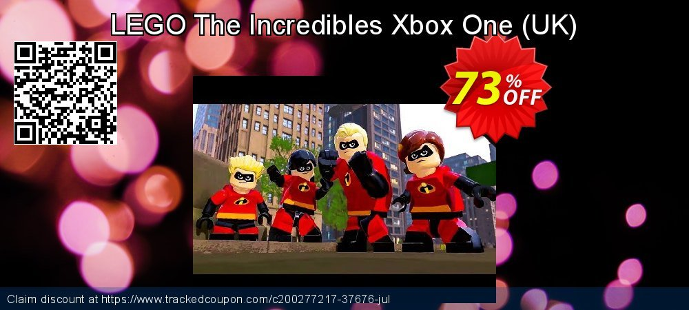 Get 70% OFF LEGO The Incredibles Xbox One (UK) offering sales