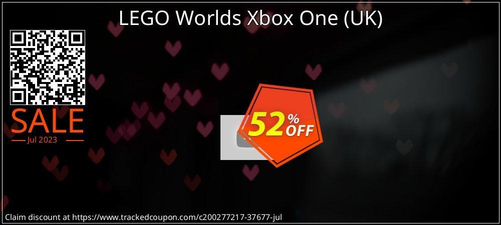 LEGO Worlds Xbox One - UK  coupon on National Kissing Day promotions