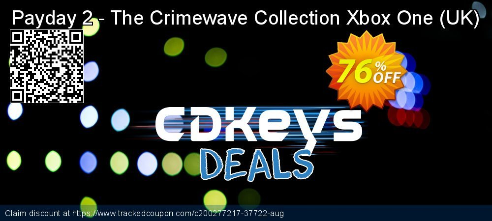 Payday 2 - The Crimewave Collection Xbox One - UK  coupon on National Cheese Day promotions